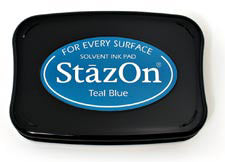 StazOn Inkpad - Teal