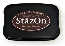 StazOn Inkpad - Timber Brown