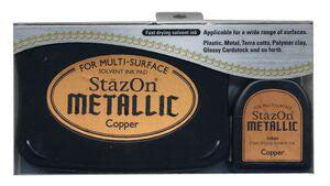 StazOn Metallic Inkpad - Copper