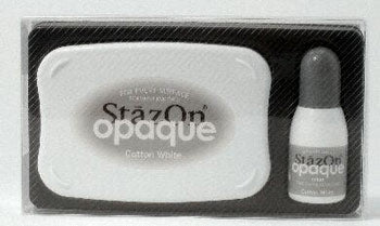 StazOn Opaque Inkpad - Cotton White