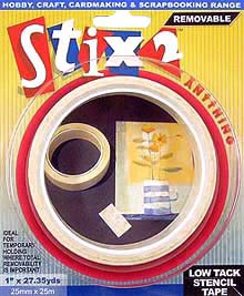 Stix2 Low Tack Stencil Tape