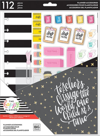 Me & My Big Ideas Happy Planner - Teacher's Gonna Teach Big Accessory Pack