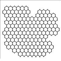 Crafter's Workshop 6x6 Template - Chickenwire Reversed