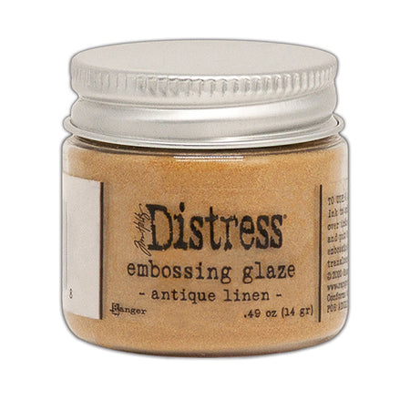Ranger Distress Embossing Glaze - Antique Linen
