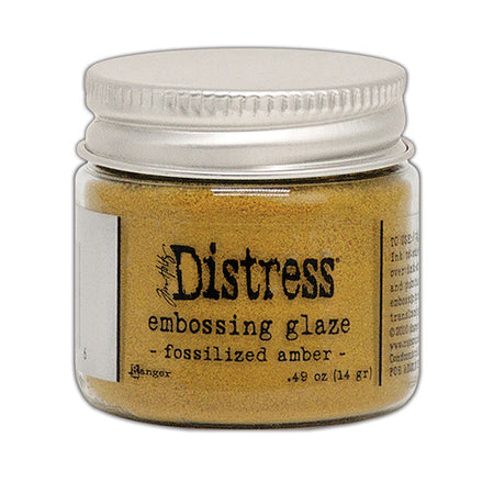 Ranger Distress Embossing Glaze - Fossilised Amber