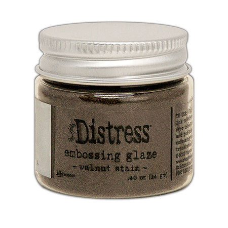 Ranger Distress Embossing Glaze - Walnut Stain