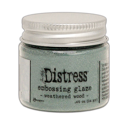 Ranger Distress Embossing Glaze - Weathered Wood
