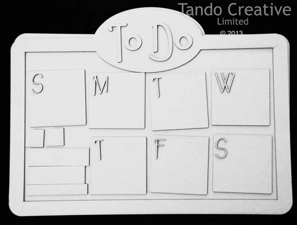 Tando Creative - To Do Chalk/Memo Board