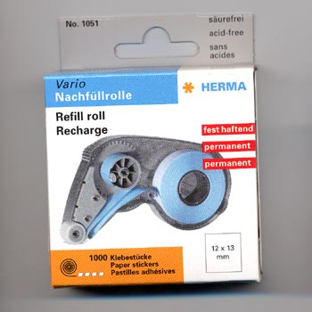 Herma Tab Dispenser Refill