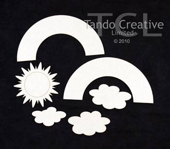 Tando Creative - Rainbow and Elements