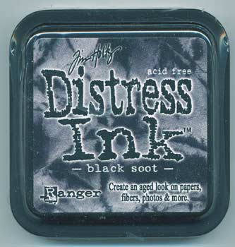 Tim Holtz Distress Ink Black Soot