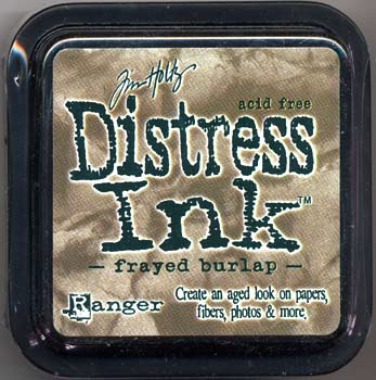Tim Holtz Distress Ink Frayed Burlap