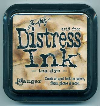 Tim Holtz Distress Ink Tea Dye