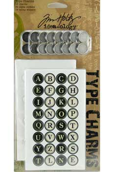 Tim Holtz Idea-ology - Type Charms