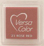 Versa Color Ink Cube - Rose Red