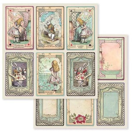 Stamperia - Alice Cards