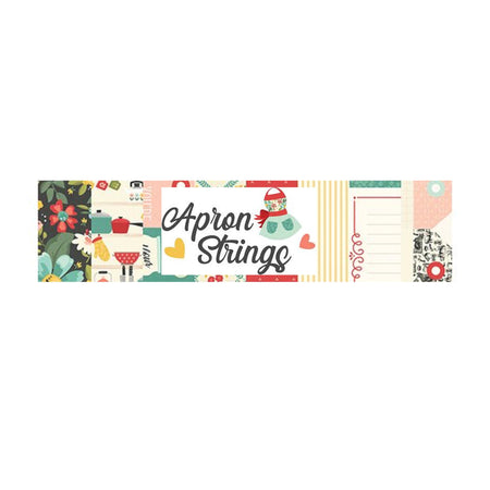 Simple Stories Apron Strings - Bazzill Plain Matchmaker Pack