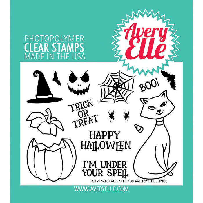 Avery Elle Clear Stamps - Bad Kitty