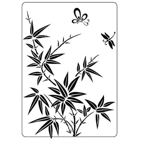Crafts-Too Embossing Folder - Bamboo