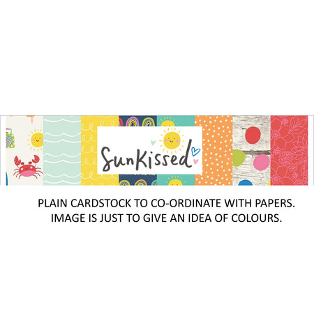 Simple Stories Sunkissed - Bazzill Plain Matchmaker Pack