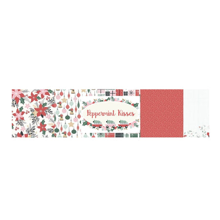 Kaisercraft Peppermint Kisses - Bazzill Plain Matchmaker Pack