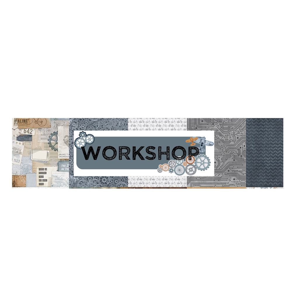 Kaisercraft Workshop - Bazzill Plain Matchmaker Pack