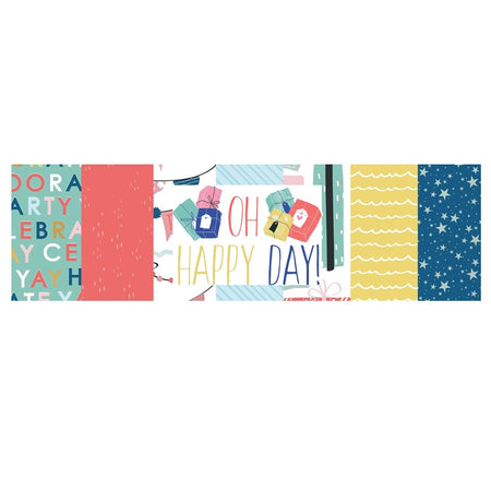Kaisercraft Oh Happy Day - Bazzill Plain Matchmaker Pack