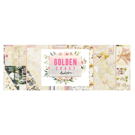 Prima Golden Coast - Bazzill Plain Matchmaker Pack