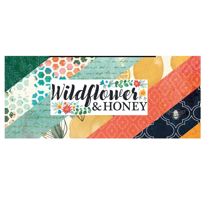 American Crafts Vicki Boutin Wildflower & Honey - Bazzill Plain Matchmaker Pack