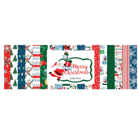 Carta Bella Merry Christmas - Bazzill Matchmaker Pack