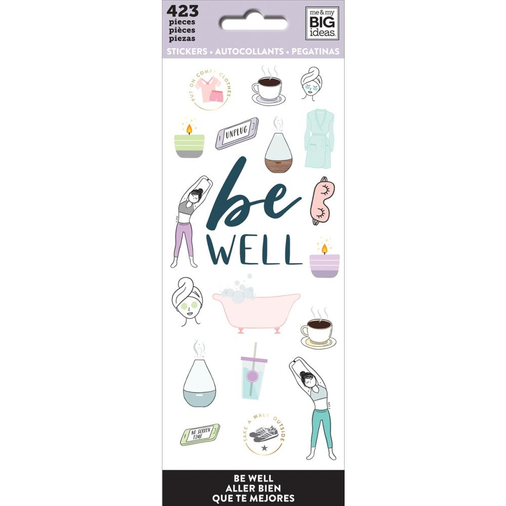 Me & My Big Ideas Stickers - Be Well