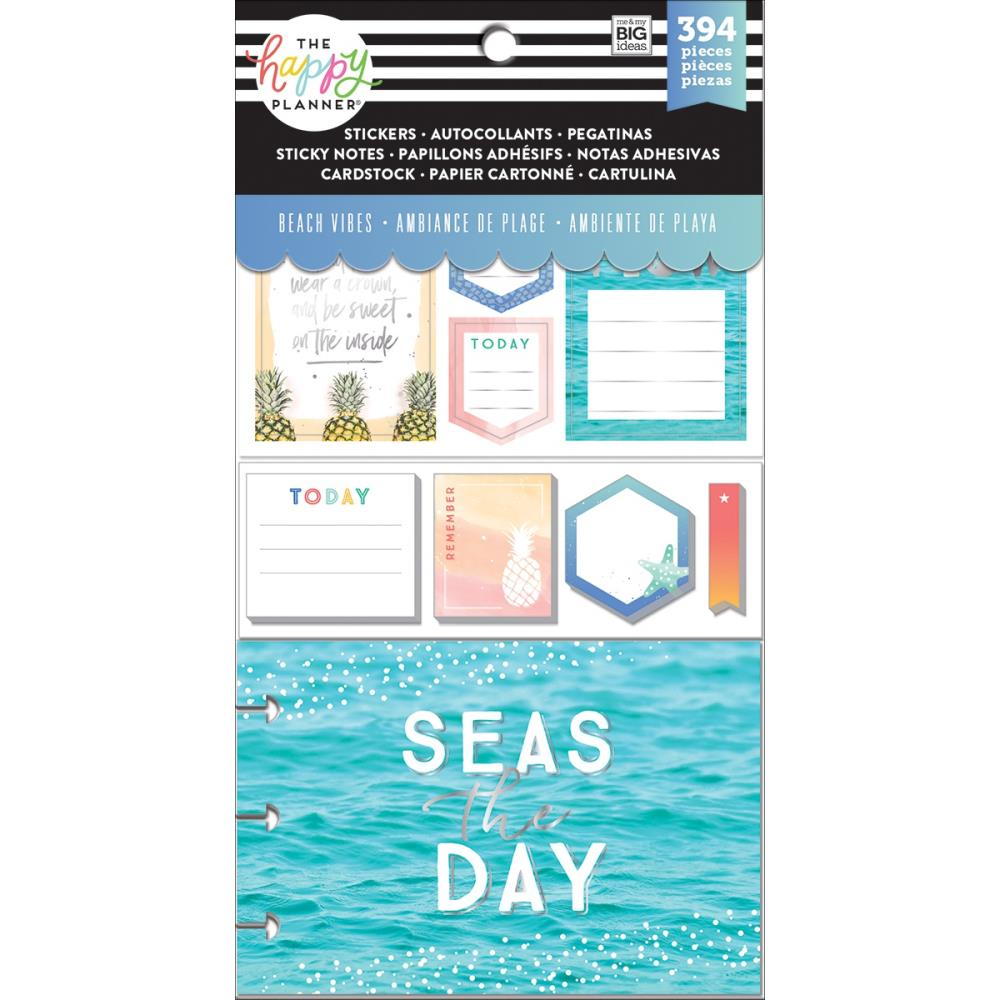 Me & My Big Ideas Happy Planner Note Cards/Stickers - Beach Vibes