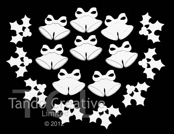 Tando Creative - Tando Minis Bells and Holly