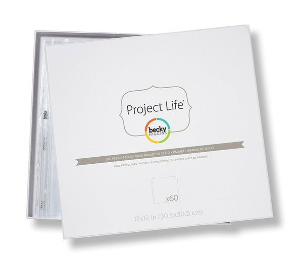 Project Life Big Pack of 12x12 Page Protectors