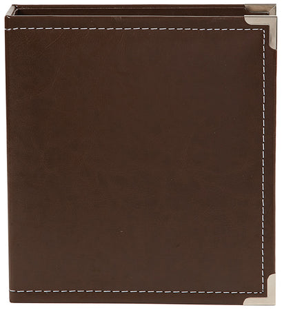 Simple Stories Faux Leather Sn@p Binder Album - Brown