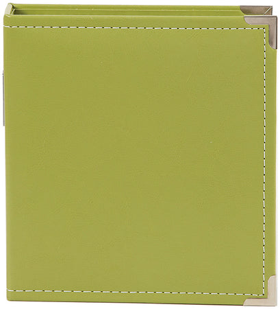 Simple Stories Faux Leather Sn@p Binder Album - Green