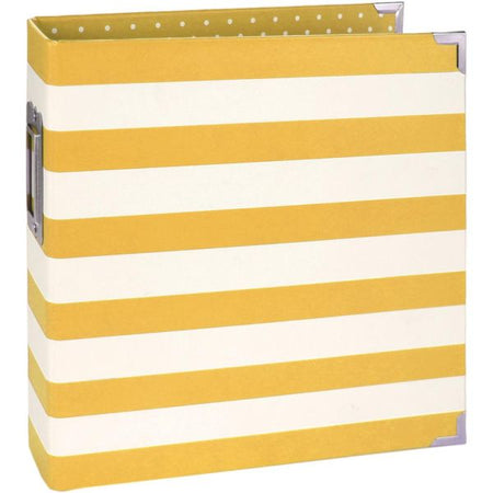 Simple Stories 6x8 Sn@p Designer Binder - Yellow