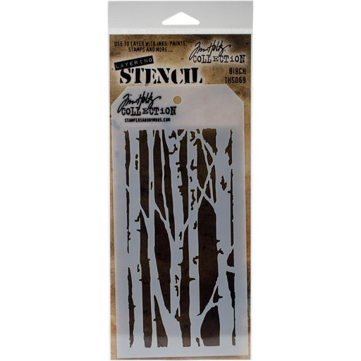 Tim Holtz Layering Stencil - Birch