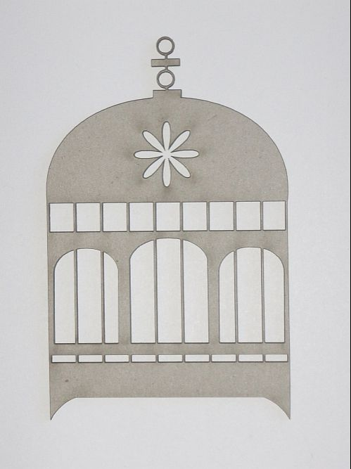 Dusty Attic - Birdcage #2