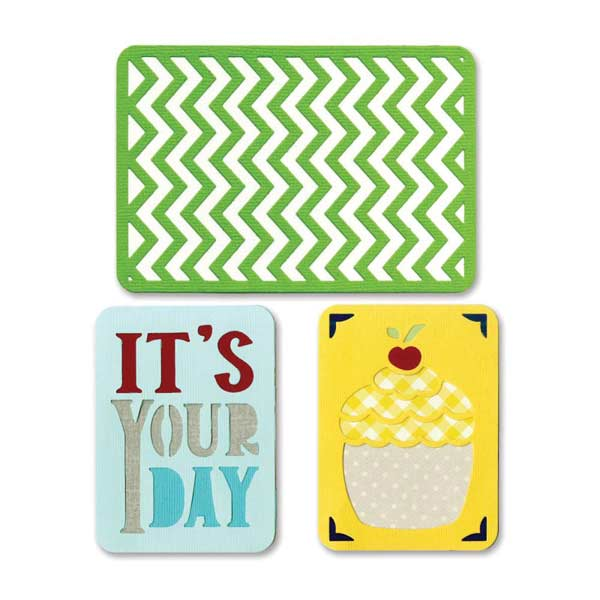 Sizzix Thinlits Die Set - Birthday #2