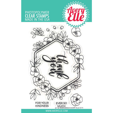 Avery Elle Clear Stamps - Blooming