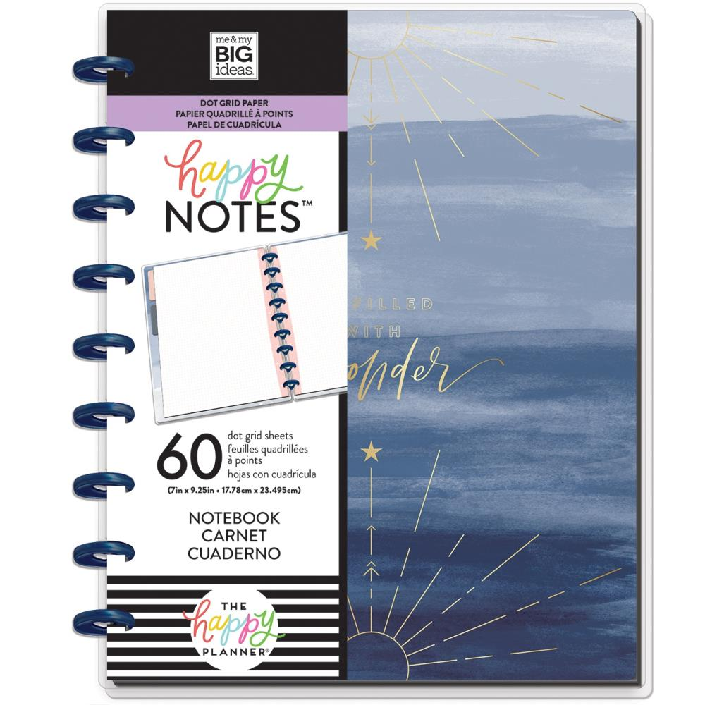 Me & My Big Ideas Happy Notes - Boho Wonder Classic Notebook (Dot Grid)