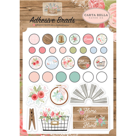 Carta Bella Farmhouse Market - Decorative Brads