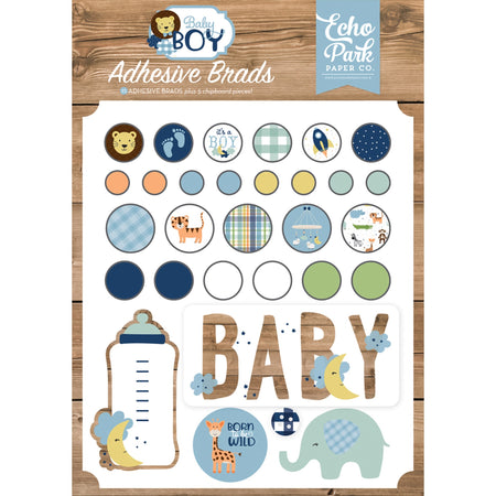 Echo Park Baby Boy - Decorative Brads