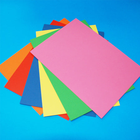 Craft UK Bright Rainbow A4 Card 30 Pack