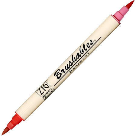 Zig Brushables Pen - Pure Red