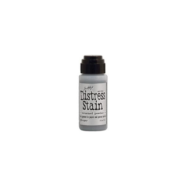 Tim Holtz Distress Stain - Brushed Pewter