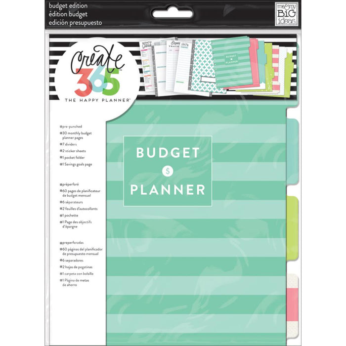 Me & My Big Ideas Happy Planner - Budget Extension Pages