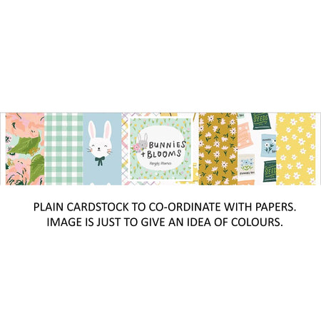 Simple Stories Bunnies & Blooms - Bazzill Plain Matchmaker Pack
