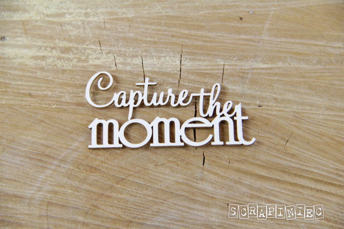 Scrapiniec Chipboard - 3751 Capture The Moment